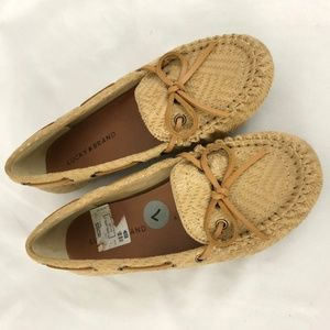 Lucky Brand Womens Shoes Abelle Moccasins Boho 7